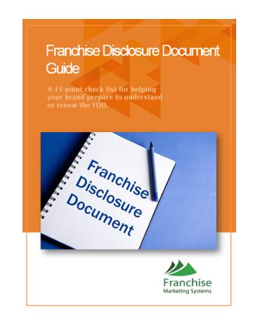 franchise disclosure doc